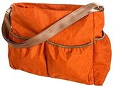 Trend Lab Orange Crinkle Tote Diaper Bag, Orange by