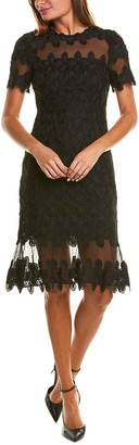 Elie Tahari Venus Sheath Dress
