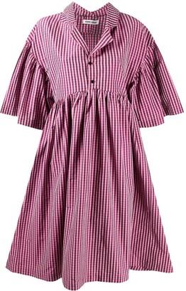 Henrik Vibskov Oversized-Sleeve Midi Dress