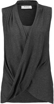 Bailey 44 Paparazzi draped stretch-jersey top