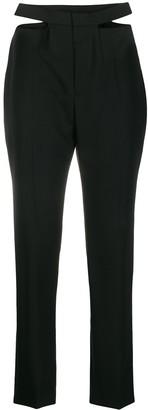 Haider Ackermann Cut-Out Tailored Trousers