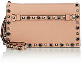 Valentino Women's Rockstud Small Clutch-TAN