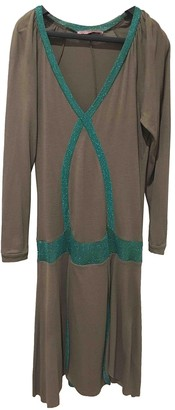 Erotokritos Beige Wool Dress for Women