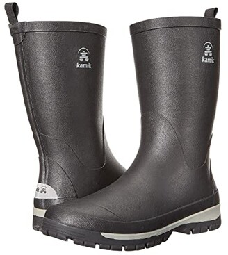 Kamik Lars (Black) Men's Rain Boots