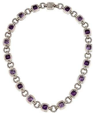 David Yurman Amethyst Renaissance Necklace