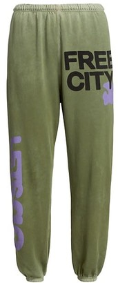 Freecity Logo Fleece Sweatpants