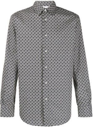 Brioni Geometric-Print Shirt