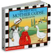 Bed Bath & Beyond My First Real Mother Goose Board Book