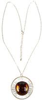 Forever 21 Aspherical Medallion Necklace