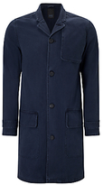 Denham Travel Coat, Dark Navy