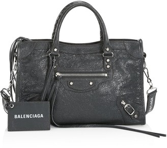 Balenciaga Small Classic City Leather Satchel