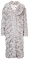 Maison Margiela fur fitted coat
