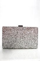 Sondra Roberts Silver Tone Blush Ombre Minaudiere Bag New $65 90062723