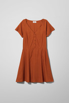 Weekday Kiki Dress - Orange