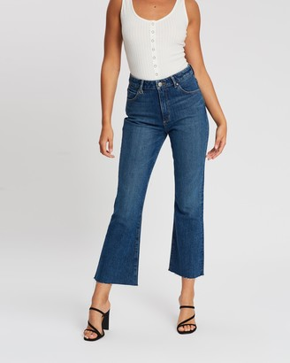 Neuw Marilyn Crop Kick Flare Jeans