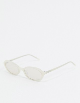 DKNY City Native narrow oval sunglasses