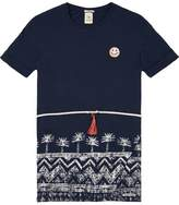 Scotch & Soda Loose Printed T-Shirt Dress
