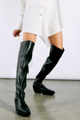 Jeffrey Campbell Zora Over-The-Knee Boots