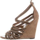 Barbara Bui Stud-Embellished Cage Sandals