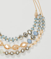 LOFT Pearlized Multistrand Necklace