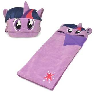 My Little Pony Hasbro Figural Hooded Sherpa Sleeping Bag