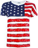 P.A.R.O.S.H. american flag print T-shirt