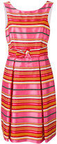 P.A.R.O.S.H. striped dress - women - Cotton/Polyester - M
