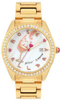 Betsey Johnson Rose Play Day Giftboxed Watch