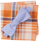 Original Penguin Blyth Solid Bow Tie & Pocket Square 2-Piece Set