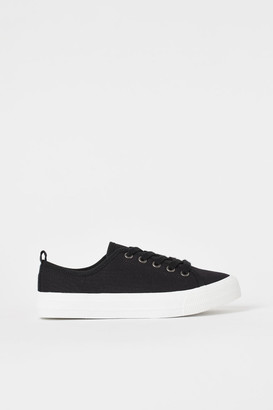 H&M Canvas trainers