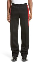 Givenchy Men's Red Neoprene Band Joggers