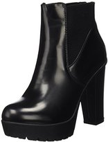 Xti Women's Botin Sra. C. Negro . High Heel Shoes with Closed Tip Size: 6.5