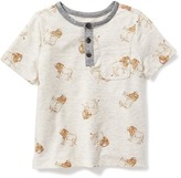 Old Navy Printed Hi-Lo Henley for Toddler