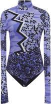 Versace Crepe Jersey Bodysuit