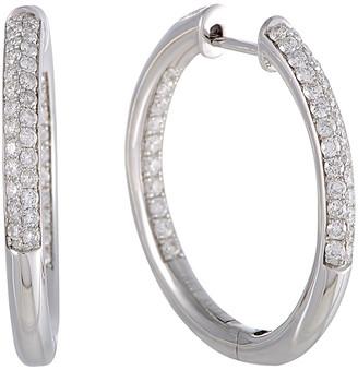 Diamond Select Cuts 14K 1.00 Ct. Tw. Diamond Hoops