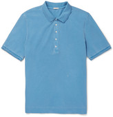 Massimo Alba - Stretch-cotton Piqué Polo Shirt