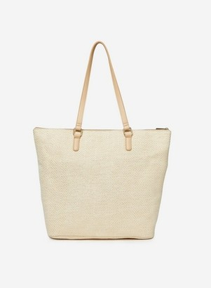 Dorothy Perkins Womens Beige Beach Shopper Bag