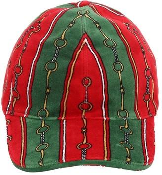 Gucci Printed Chenille Baseball Hat