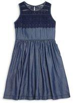 Ella Moss Little Girl's & Girl's Embroidered Eyelet Dress