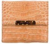 Gucci Alligator Compact Wallet