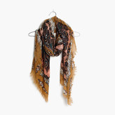Madewell Concentric Paisley Square Scarf