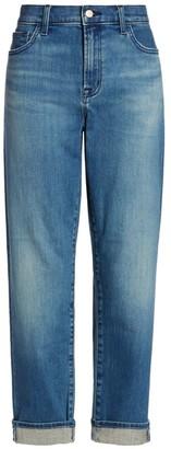 J Brand Tate Boyfriend-Fit Jeans