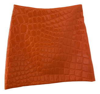 Miu Miu Orange Polyester Skirts