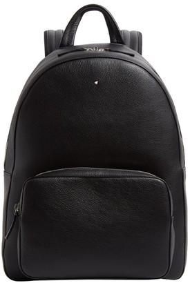 Montblanc Grained Leather Backpack