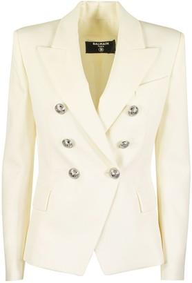 Balmain Double Breasted Blazer Jacket