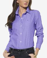 Lauren Ralph Lauren Non-Iron Pinstriped Shirt