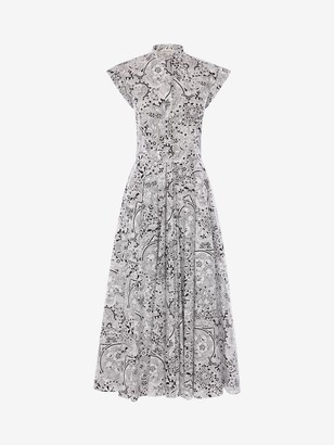 Alexander McQueen Art Nouveau Midi Dress