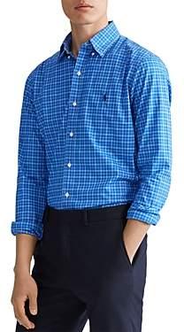 Polo Ralph Lauren Classic Fit Plaid Cotton-Poplin Shirt