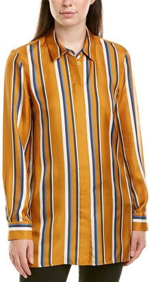 Lafayette 148 New York Barry Silk Blouse