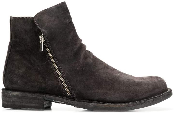 Officine Creative Ikon zipped ankle boots